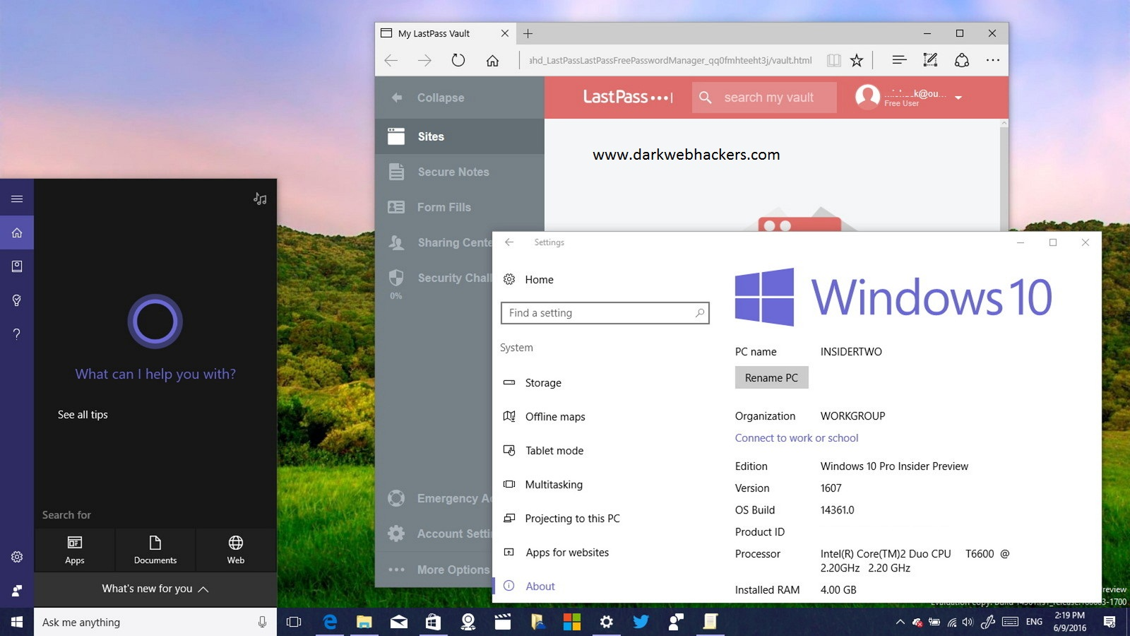 Windows 10 v1607 January 2017 All in One Edition (x86/x64