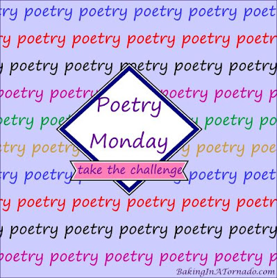 Poetry Monday | Graphic designed by and property of www.BakingInATornado.com | #poem #poetry