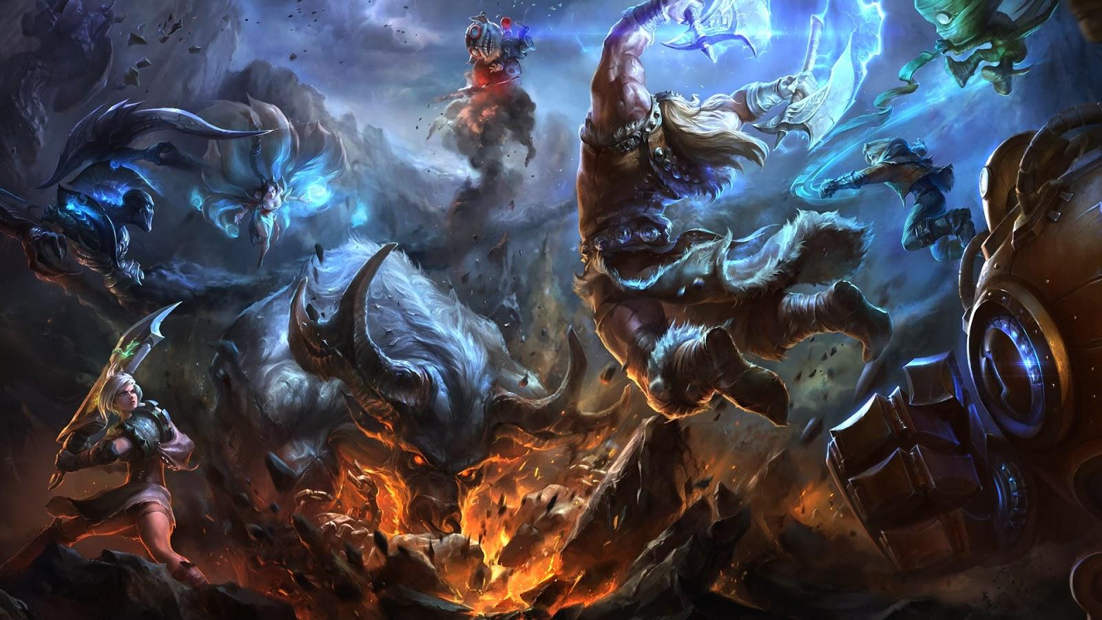 Blitzcrank League of Legends Wallpaper, Blitzcrank Desktop