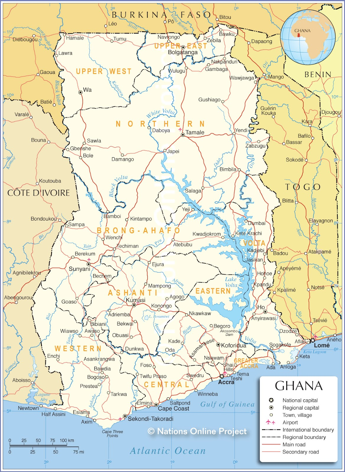 ENGIE And EleQtra Sign An Agreement For The Development Of A Wind - Where is ghana located