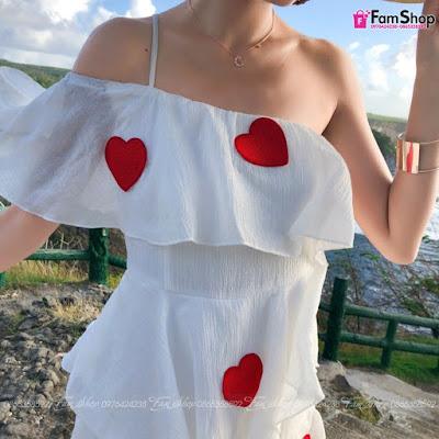 Váy maxi đi biển V352