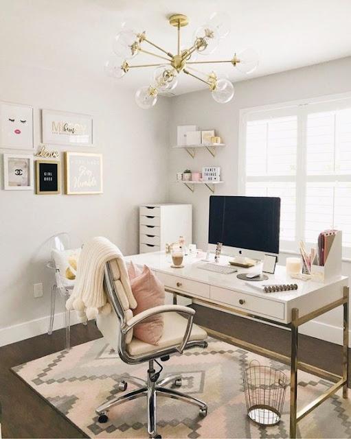 oficina iluminacion home office