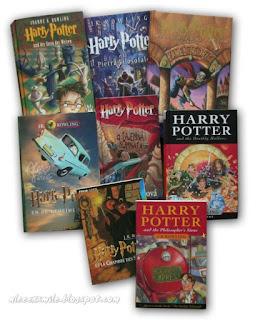 Harry Potter zagraniczne wydania - Włoskie, czeskie, chorwackie, brytyjskie, holenderskie, niemieckie