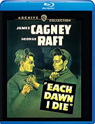 James Cagney, George Raft, Bluray, Warner Archive, Warner Brothers,