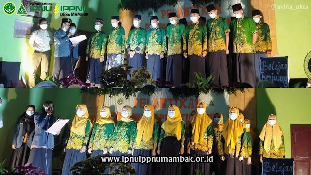 Pimpinan Ranting IPNU IPPNU Tok Songo 2020-2022 Resmi Dilantik