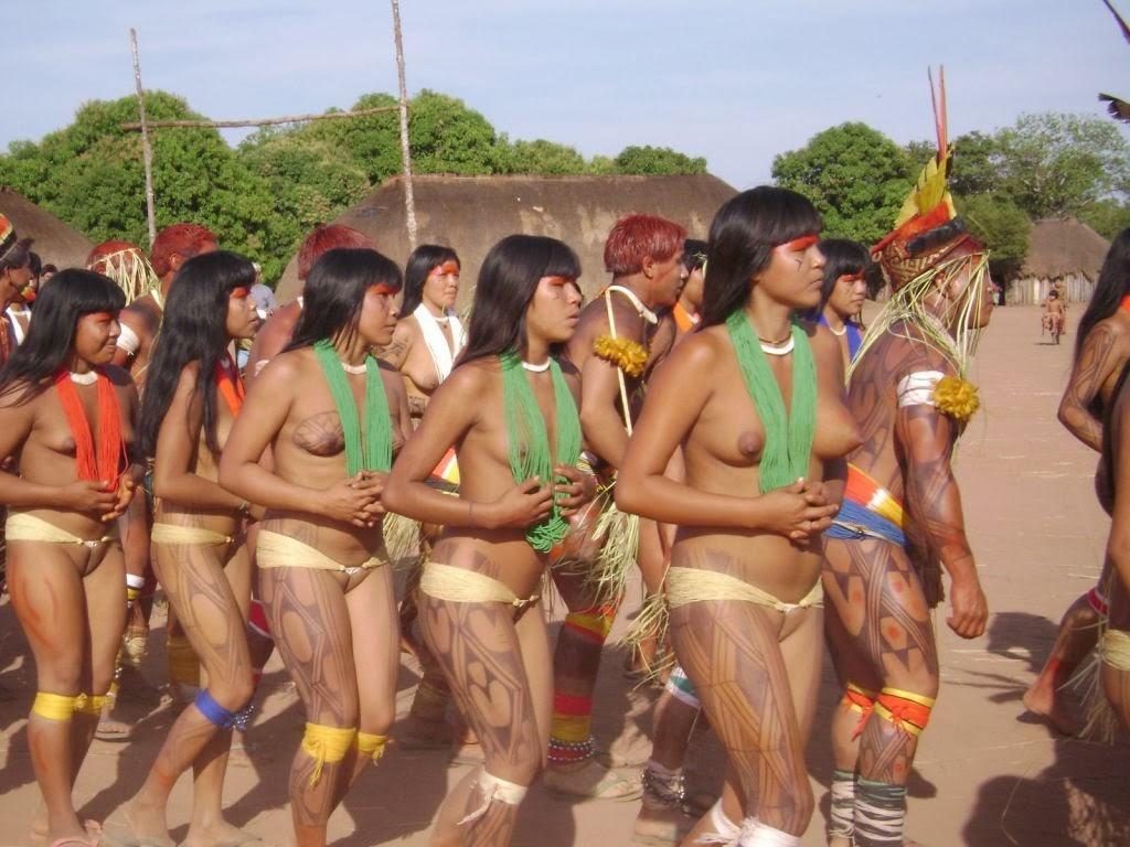 фото нудистов племен южной америки порно