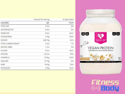 أفضل بروتين نباتي نسائي