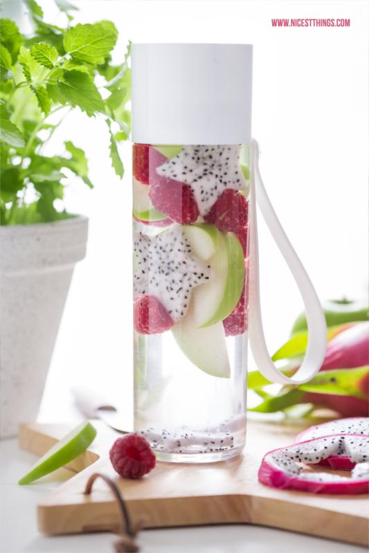 Waserflasche BPA-frei von Rosti Mepal mit Früchten