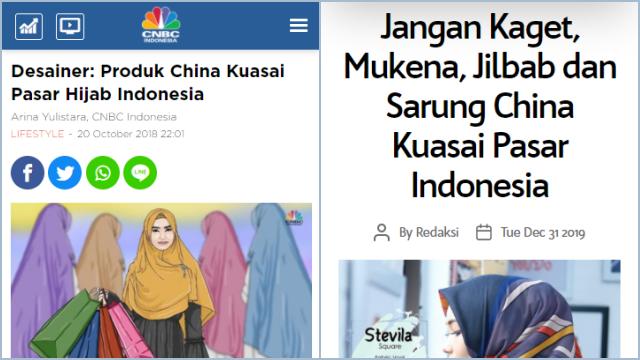 Musabab Jokowi Gaungkan Benci Produk Luar Negeri: UMKM Hijab RI Ditikung China