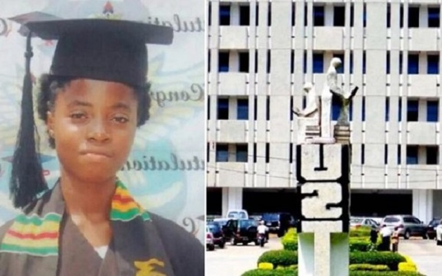 Ruth Ama Gyan-Darkwah, the 13-year-old admitted into KNUST