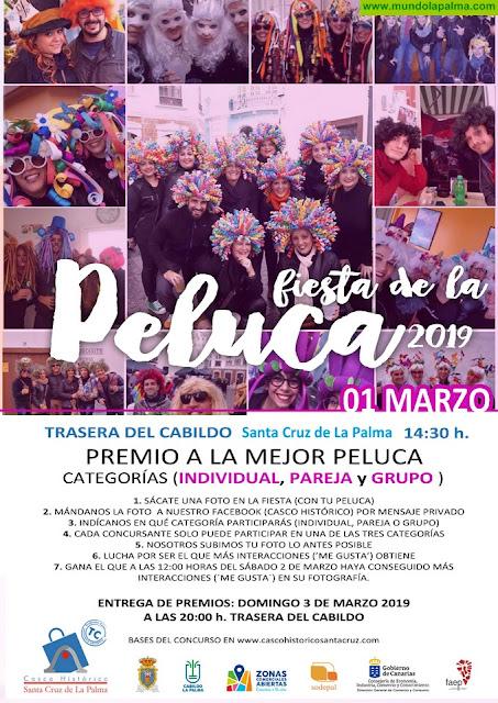 El Casco Histórico premiará las mejores pelucas de la Fiesta de la Peluca 2019
