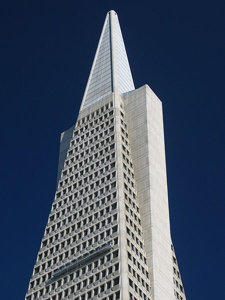Top 5 Earthquake Resistant Structures Worldwide - Transamerica Pyramid