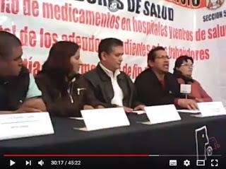 Conferencia de prensa CENCOS