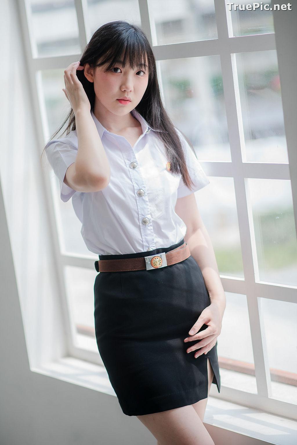 Image Thailand Model - Miki Ariyathanakit - Cute Student Girl - TruePic.net - Picture-7