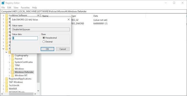 حل مشكلة Antimalware Service Executable و إيقاف استهلاك المعالج و الرام