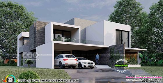 5 bedroom box type contemporary house plan