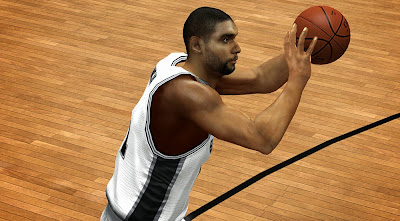Tim Duncan HD Face Texture Patch