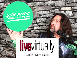 "Akron Civic Theatre's ""Live Virtually"" w/ Little Steve-O"