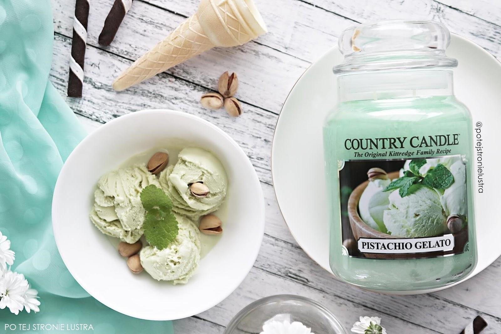 pistachio gelato country candle