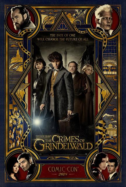 Cartaz de 'Os Crimes de Grindelwald' para a San Diego Comic-Con é revelado | Ordem da Fênix Brasileira