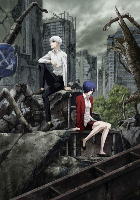Anime Tokyo Ghoul:re tendrá segunda temporada en octubre