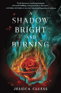 a shadow bright and burning, jessica cluess, book, fantasy, hystory, fiction, magic, romance, young adult