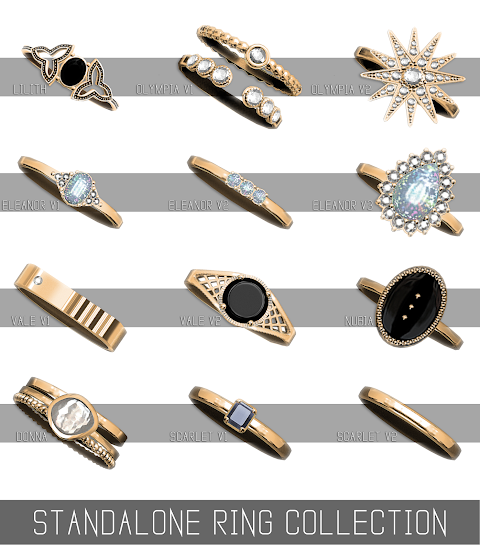 STANDALONE RING COLLECTION (PATREON)