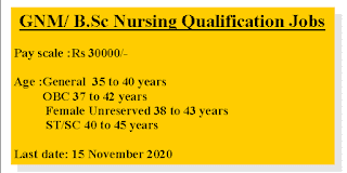 30,000 Rupees Salary GNM/ B.Sc Nursing jobs