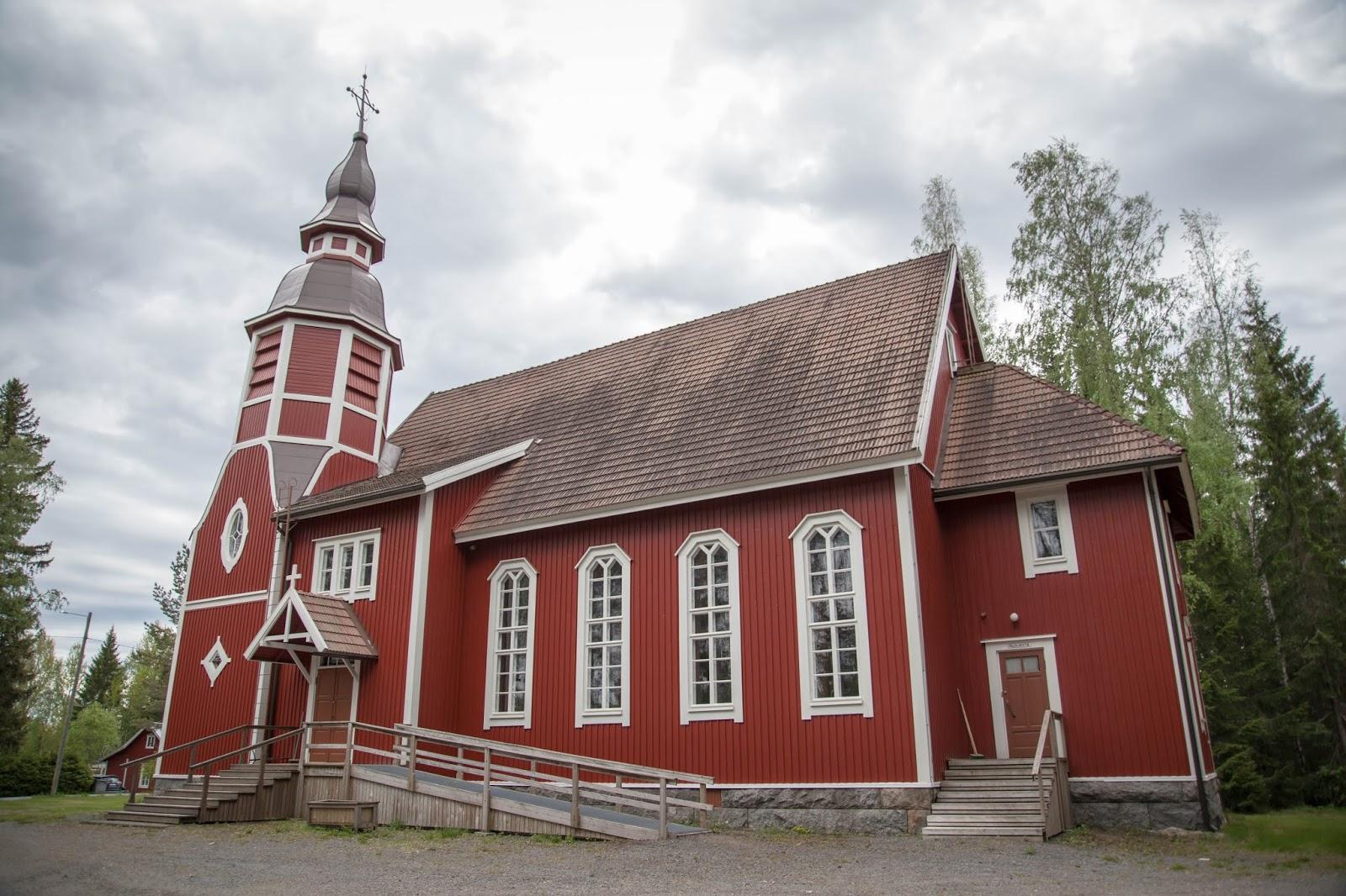 killinkosken kirkko stenbäck