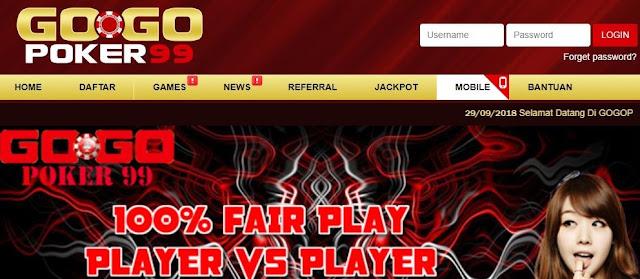Main Poker DominoQQ Di Agen Judi Online Gogogpoker99 Menangnya Mudah!
