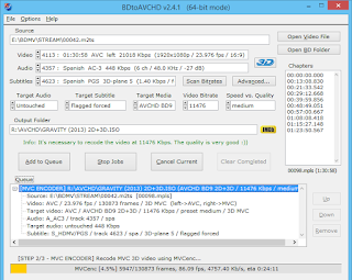 BDtoAVCHD  : Πώς να φτιάξετε  δίσκους AVCHD από δίσκους Blu-Ray ή HD αρχεία MKV