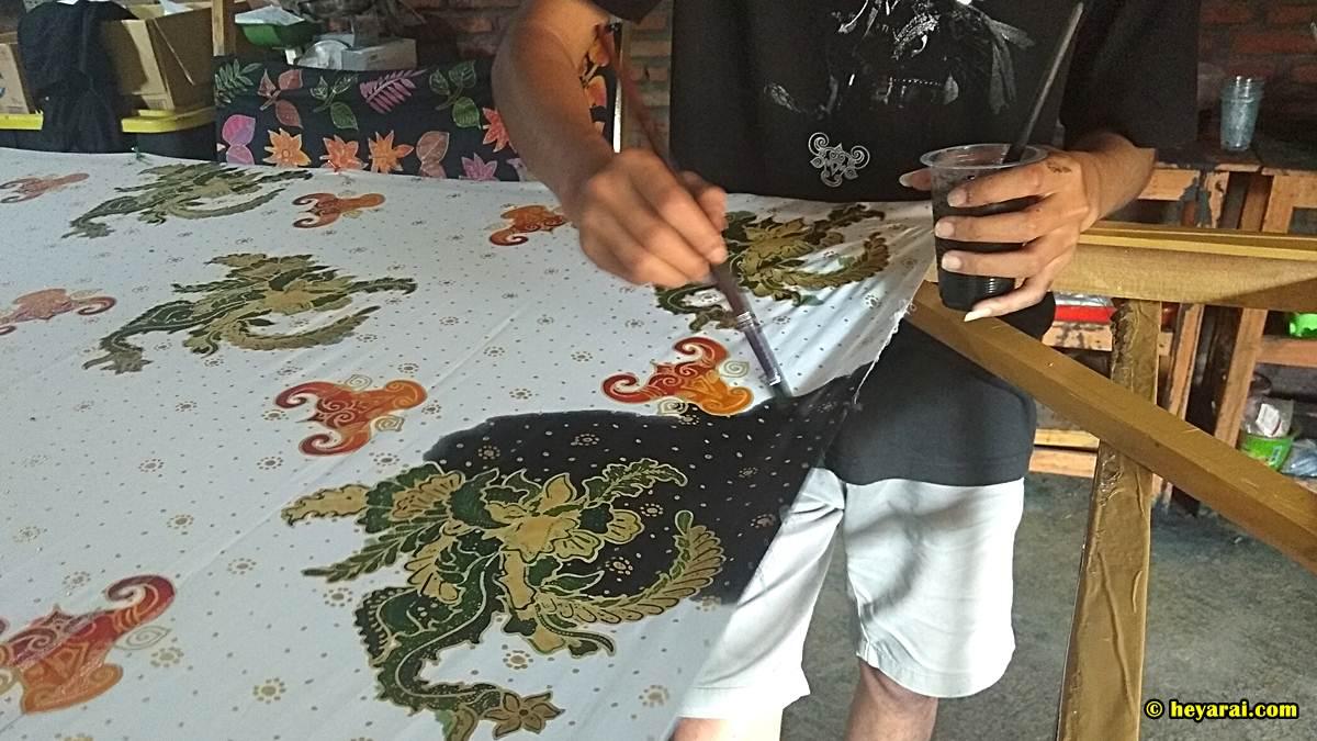 batik bantengan Anjani