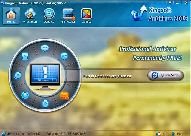 برنامج  Kingsoft Antivirus