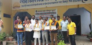 लायंस क्लब जौनपुर सूरज द्वारा प्रतिभाशाली खिलाड़ियों का सम्मान | #NayaSaveraNetwork