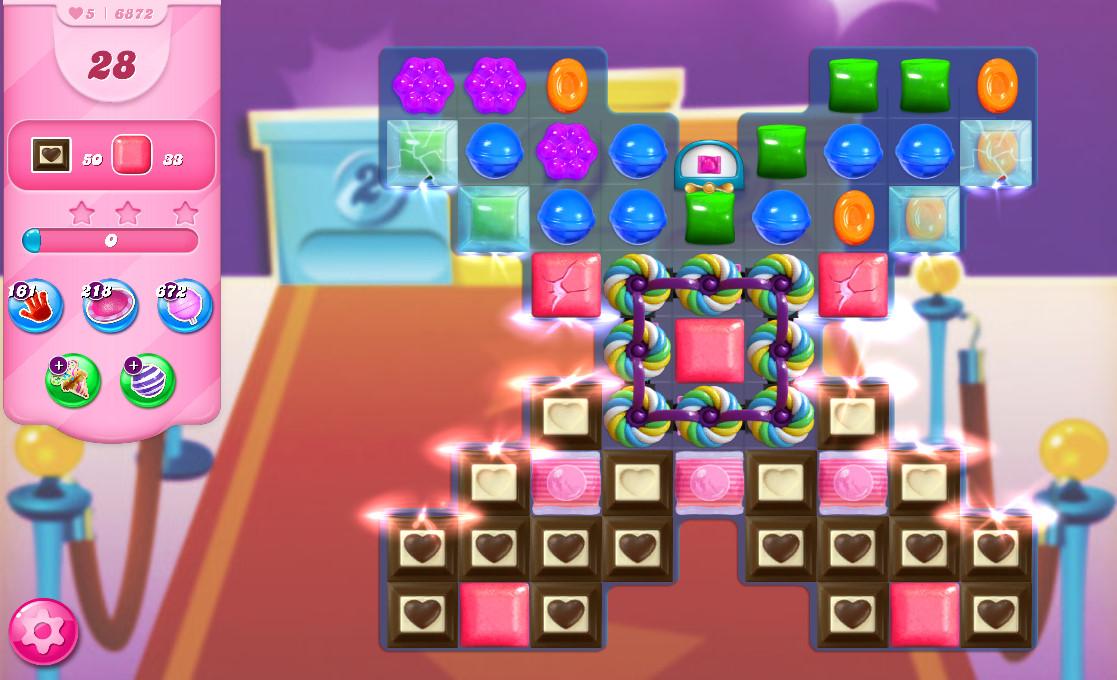 Candy Crush Saga level 6872