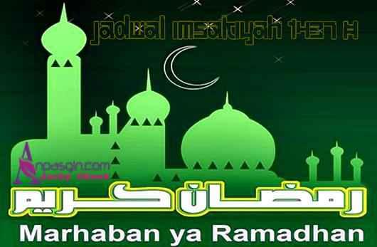 Jadwal Imsakiyah Puasa Ramadhan Hari Ini 1437 H 2016