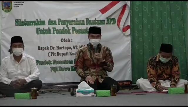 PLT Bupati Kudus Suplai APD Dan Sarpras Kesehatan di Ponpes
