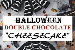 "DOUBLE CHOCOLATE HALLOWEEN ""CHEESECAKE"""