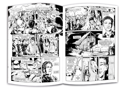 Terra de Meigas: Belladona, del guionista Lewis y el dibujante Álvaro Ming.