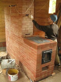 готовая печь