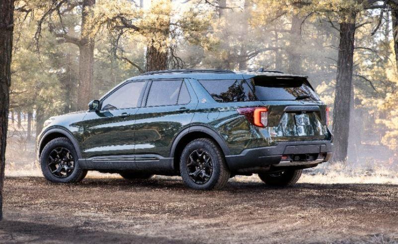 tampilan belakang ford timberline 2021
