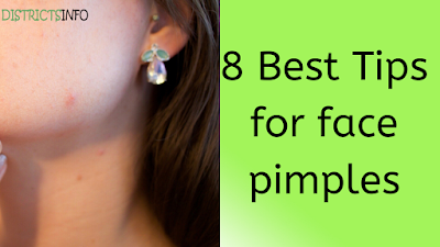 8 Best Tips for face pimples