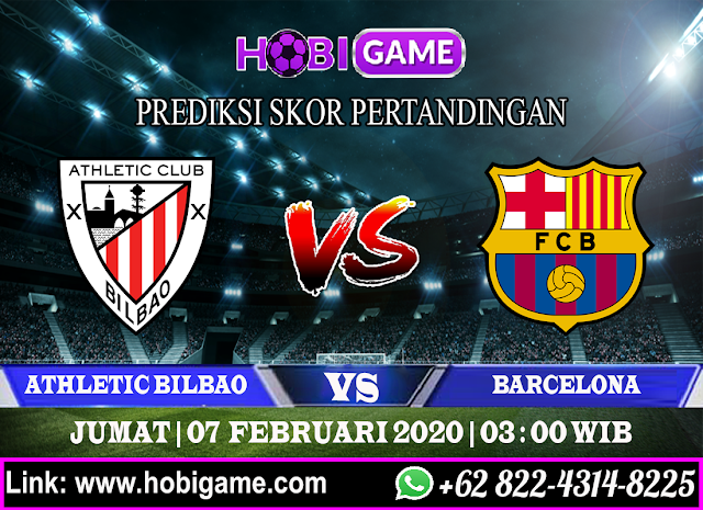 PREDIKSI ATHLETIC BILBAO VS BARCELONA 7 FEBRUARI 2020