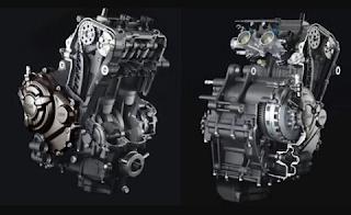 Mesin motor besar yamaha mt07 di produksi di indonesia