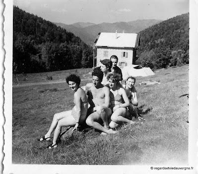photo de famille : les vacances.