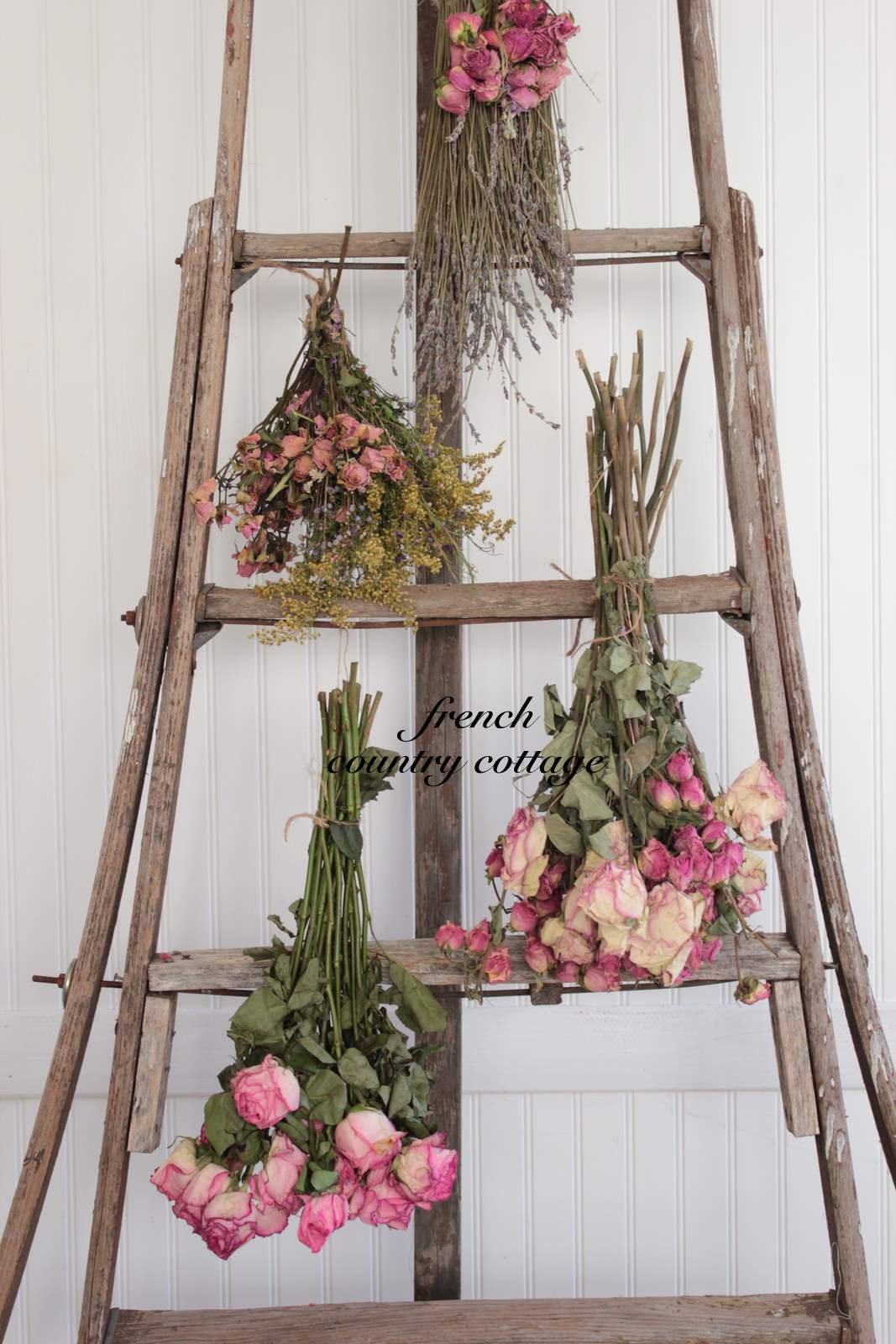 Vintage Orchard Ladder Love - FRENCH COUNTRY COTTAGE