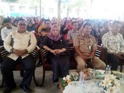 SMP Negeri 6 Kayuagung Lepas Sekitar 200 Anak Didiknya