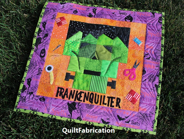Frankenquilter by QuiltFabrication