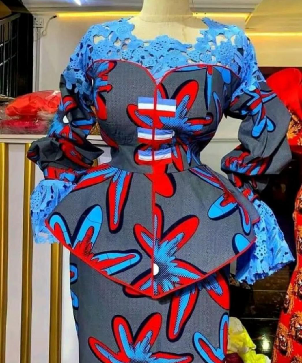 1000+ New Arewa Ankara blouse Styles