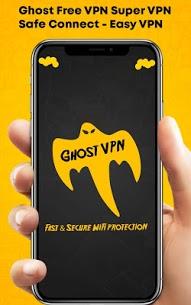 Ghost Paid VPN Super VPN Safe Connect – Easy VPN v1.1 [Paid] Apk
